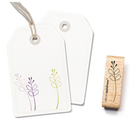Wooden Stamp - Plant Twig 1