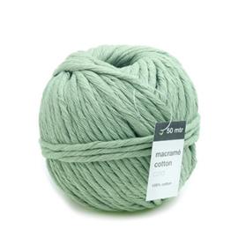 Macramé Garen Mint Groen - 50 meter