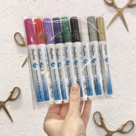Voordeelset Porseleinstiften - Compleet