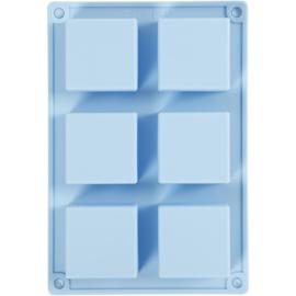Zeep Gietvorm Siliconen - Vierkant