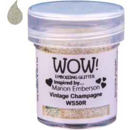 Embossing Powder Glitter - Vintage Champagne