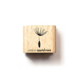 Wooden Stamp - Mini Dandelion