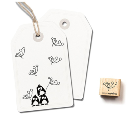 Wooden Stamp - Mini Blossom