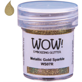 Embossing Poeder Glitter - Metallic Gold Sparkle