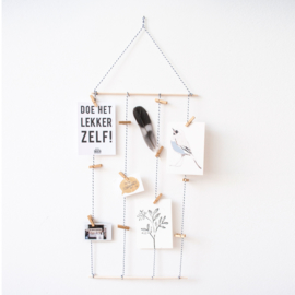 Mini DIY Kit Card Hanger