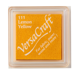 VERSACRAFT STEMPELKUSSEN - LEMON YELLOW