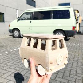 Wooden Mini Van