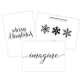 Gratis Printable Kerst DIYs