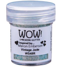 Embossing Powder Glitter - Vintage Jade