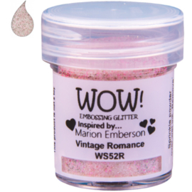 Embossing Powder Glitter - Vintage Romance