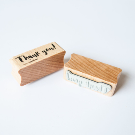 Houten Stempel - Thank you!