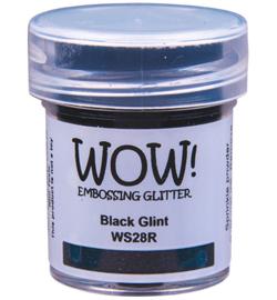 Embossing Poeder Glitter - Black Glint