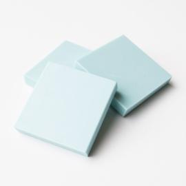 Rubberen Stempelblokken Vierkant - 3 stuks