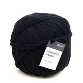 Macrame Yarn Black - 150 meter