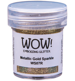 Embossing Poeder Glitter - Metallic Gold Sparkle