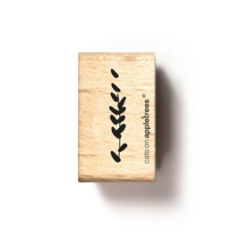 Wooden Stamp - Grass