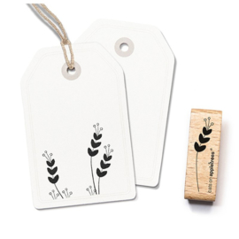 Wooden Stamp - Plant Twig 2