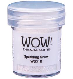 Embossing Poeder Glitter - Sparkling Snow
