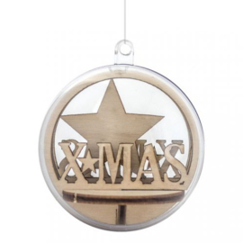 Christmas Ornament Insert - XMAS