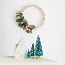 MINI DIY KIT CHRISTMAS WREATH