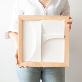 PRE-ORDER   DIY-pakket 3D Reliëf Schilderij