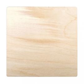 Houten Ansichtkaarten Vierkant - 5 stuks
