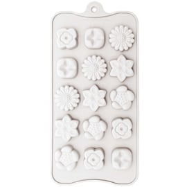 Soap Casting Mould Silicone - Flowers