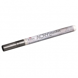 Acrylmarker - Zilver