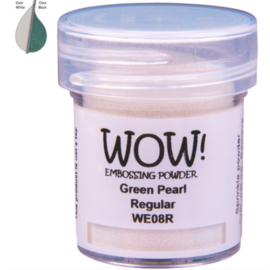Embossing Powder - Green Pearl
