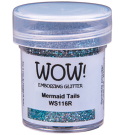 Embossing Poeder Glitter - Mermaid Tails