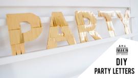 Gratis Printable Partyletters