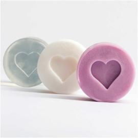 Soap Embossing Label - Heart
