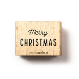 Houten Stempel - Merry Christmas 1