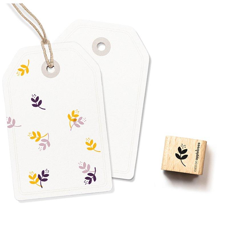 Wooden Stamp - Mini Flower
