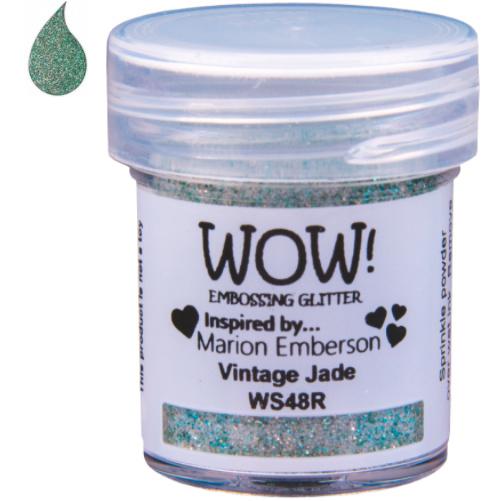 Embossing Poeder Glitter - Vintage Jade