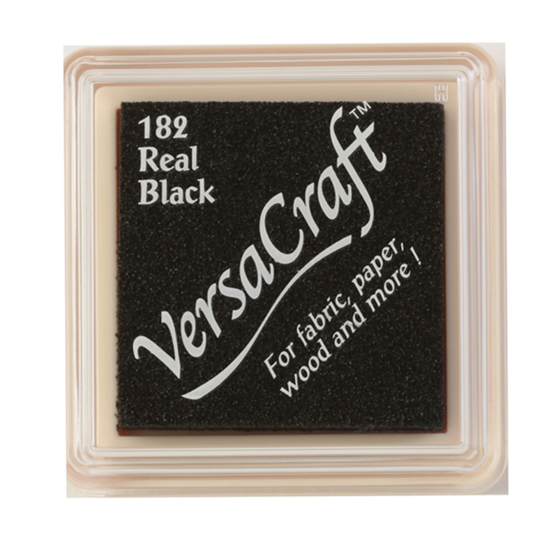 VersaCraft Stempelkussen - Real Black