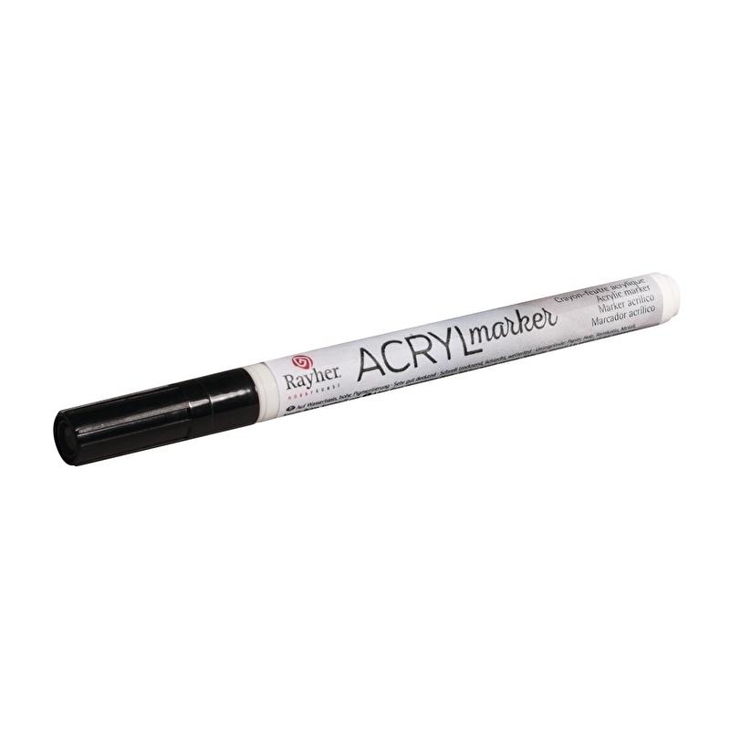 Acrylmarker - Zwart