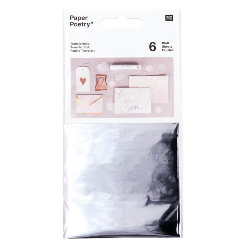 Transfer Folie - Zilver