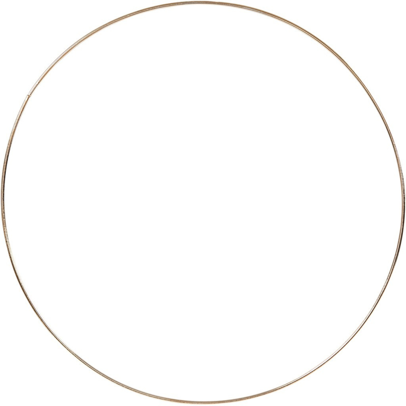 Metalen Ring Goud - 30 cm
