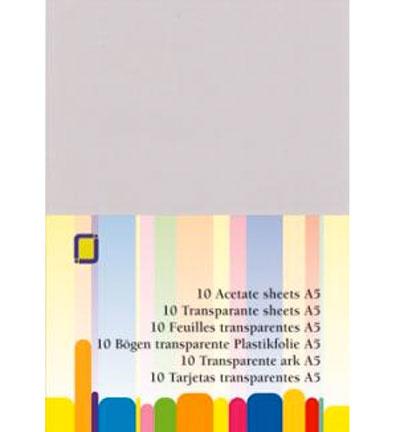 Transparante Sheets, 10 st.