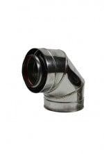 concentrisch bocht 90° graden Ø130 -200mm