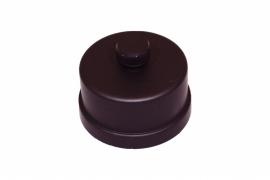 Pelletkachel condens dop voor t-stuk  ∅ 80mm 19-682