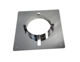 ISOTUBE Plus verdiepingsondersteuning RVS Ø150mm