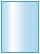 Kachelvloerplaat rechthoek met facet  400 x 1000 x 6