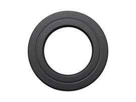 EW/125 mm Rozet - zwart