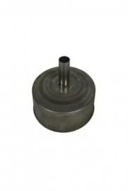 EW/Ø125mm Losse deksel met kondenseafvoer #DH129027k