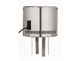Rookgasventilator (Draftbooster) RVS