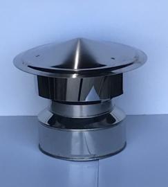 ISOTUBE Plus Twist Locvvk DW150|200 valwindkap - zwart