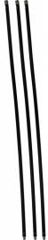 Veegset  3,60 meter met nylonborstel(Ø80, 100, 120, 125, 150, 180, 200, 250 mm)