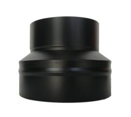 ISOTUBE Plus DW/Ø200mm Contra-aansluitstuk - Zwart